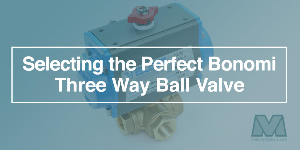 Bonomi 3 Way Valves