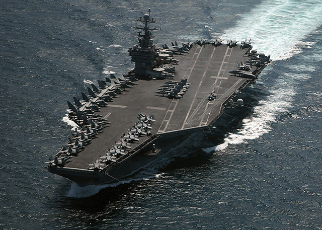 Top 10 Valve Applications - Aircraft Carriers